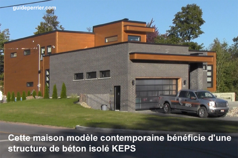 coffrage-isolant maison beton