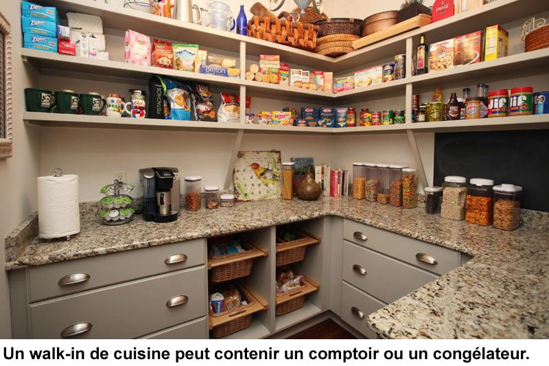 Walk In Et Rangement Efficaces Pour La Cuisine