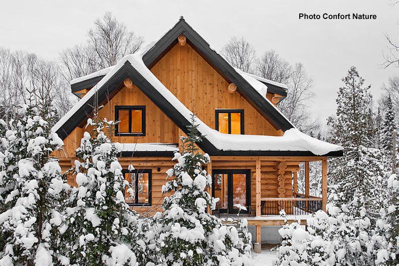 maisons bois massif quebec