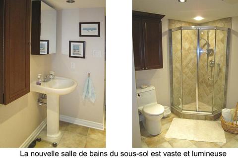 renovation sous-sols salle de bains