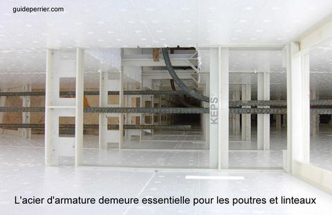 murs coffrage-isolant beton
