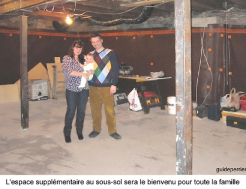 Agrandissement sur le Plateau Mont-Royal: creuser le sous-sol