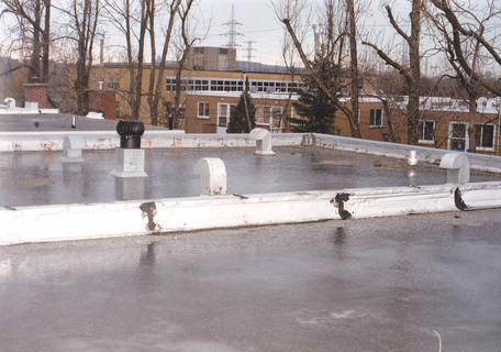 inspection toits plats hiver