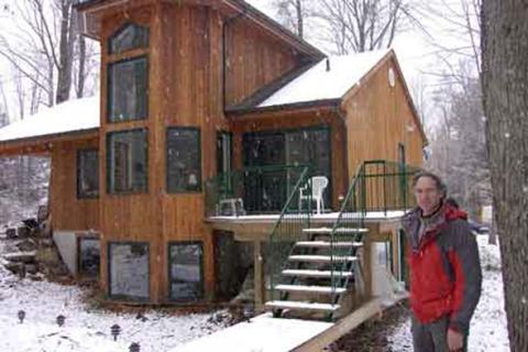 vitrage maisons solaires passives