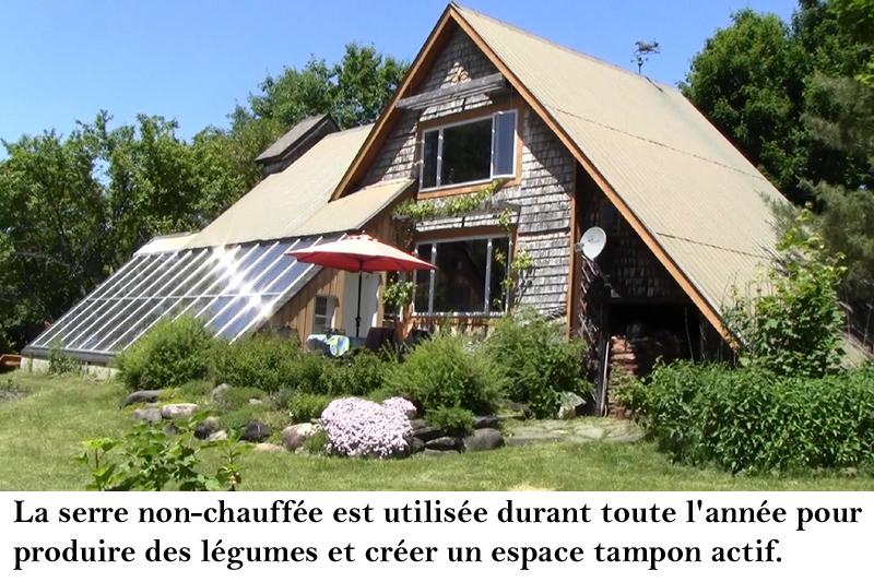 serres solaires passives maisons