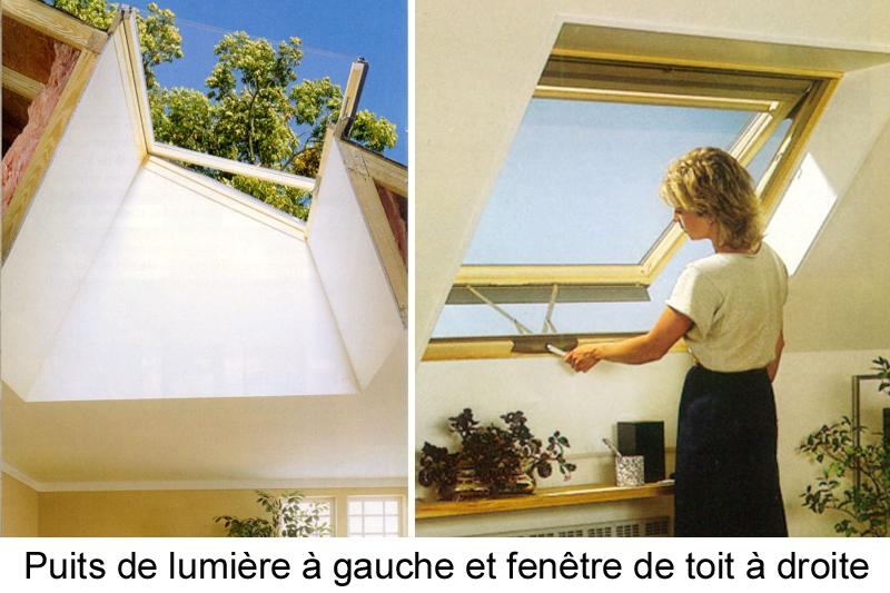 fenetre toit puits lumiere