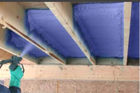 isoler planchers polyurethane