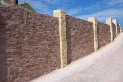 murs beton estampe
