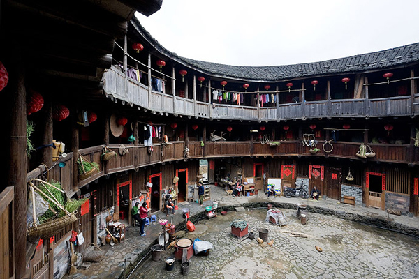Traditional-Chinese-Tulou-House