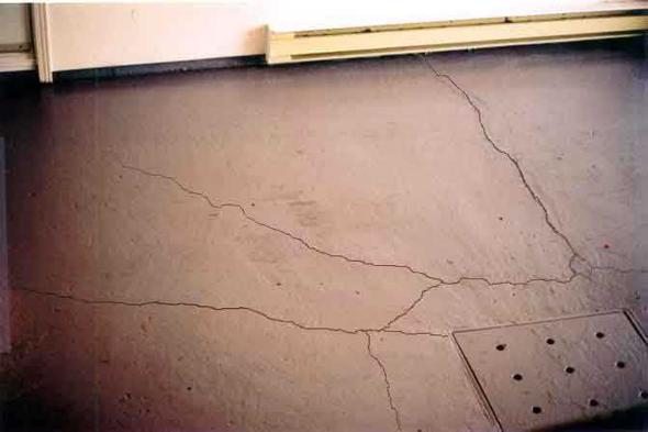 Dalle de beton au sous sol