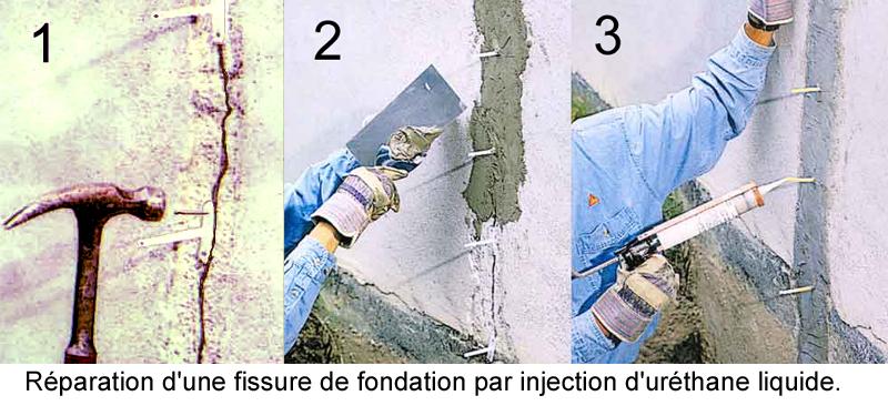 reparer fissures fondations
