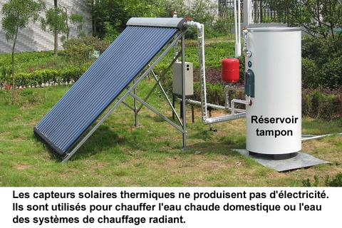 capteurs solaires chauffe eau