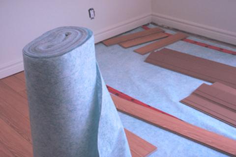 membrane acoustique plancher