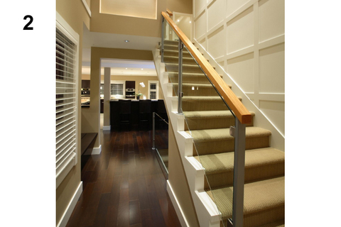 escalier contemporain interieurs construction
