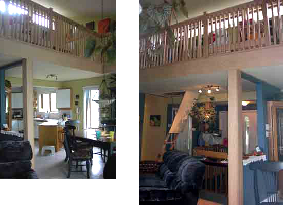 ajout mezzanine renovation