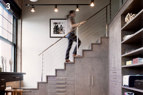 escalier contemporain interieurs maisons