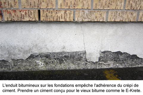finition fondations eclatement