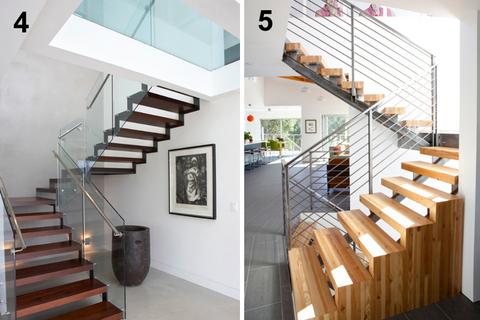 escalier contemporain interieurs design