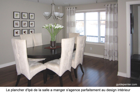 design salle manger montreal