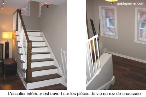 renovation escalier interieur montreal