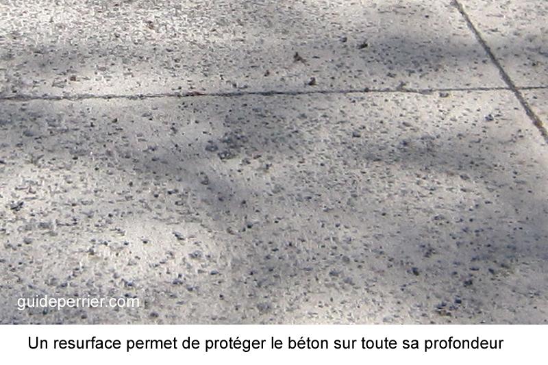 beton exterieur problemes surface