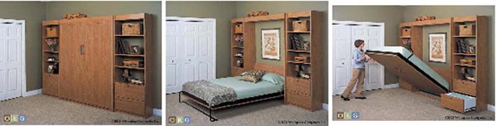 lit escamotable chambre