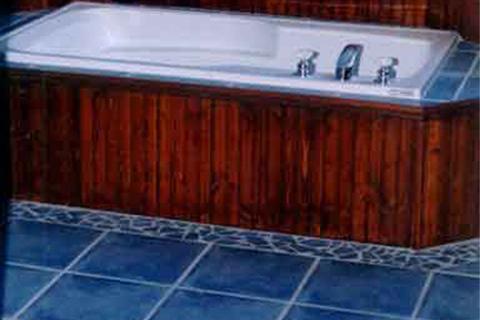 ceramique bleue salles bains