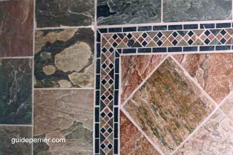 pierres ardoise plancher