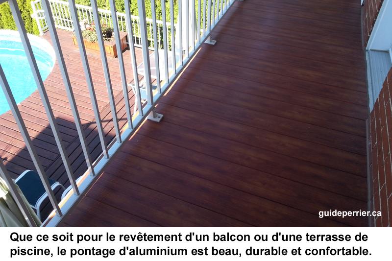 balcon aluminium montreal