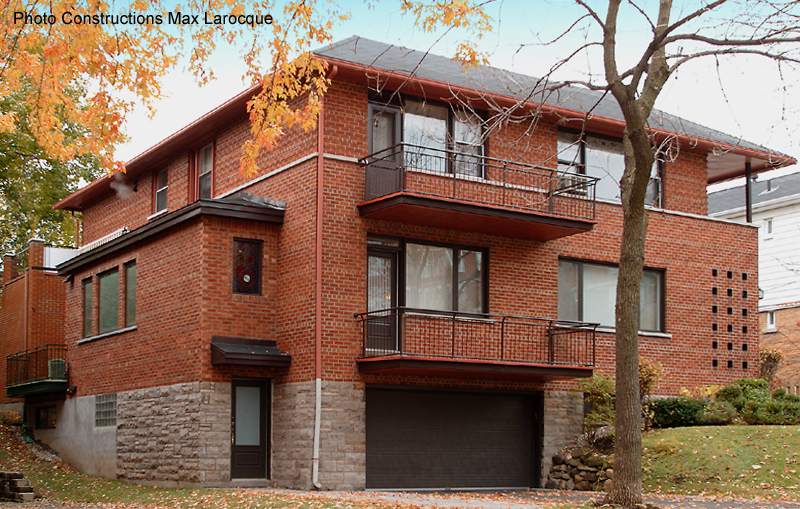 agrandissement lateral cottage Outremont