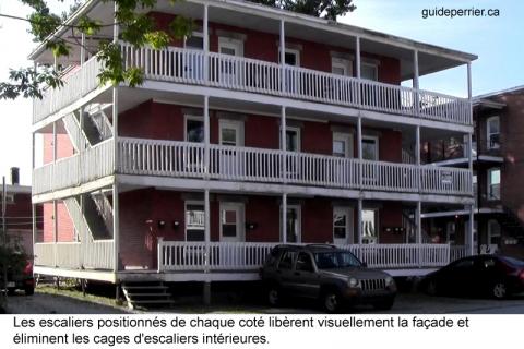 balcons maisons bois
