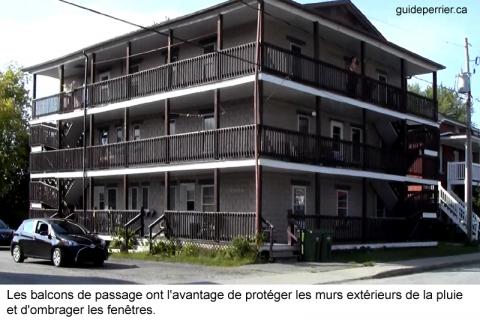 balcons entretien bois