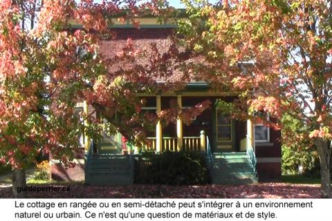 Duplex, multiplex et maisons de ville pour la campagne ?