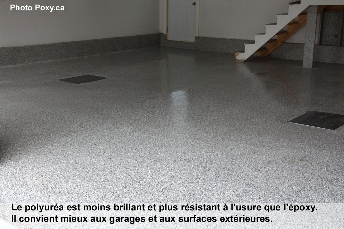 Comment Ventiler Un Garage Humide planchers de béton : époxy, polyuréa ou polyaspartique ?