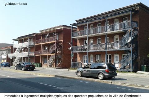immeubles logements sherbrooke
