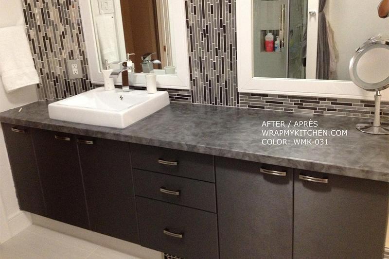 Armoires de cuisine ou salle de bains r nover moindre co t - Cout d une salle de bain ...
