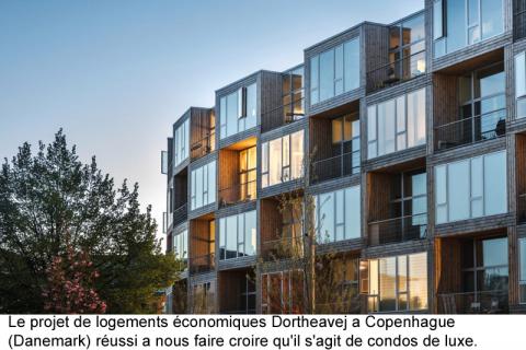 Modules usinés: pour du logement abordable et écologique
