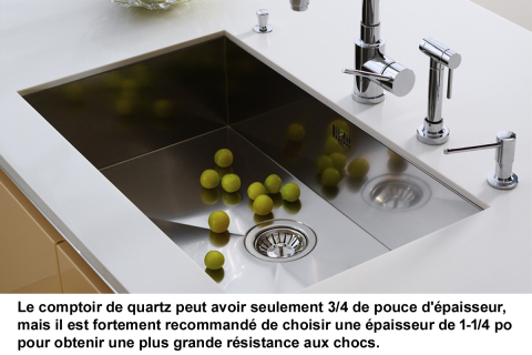 _quartz comptoir