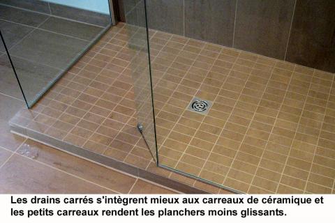 _drain carre