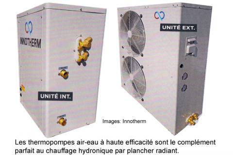thermopompe air eau
