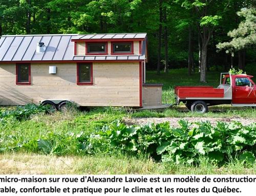 Micromaison sur roues pour le Québec
