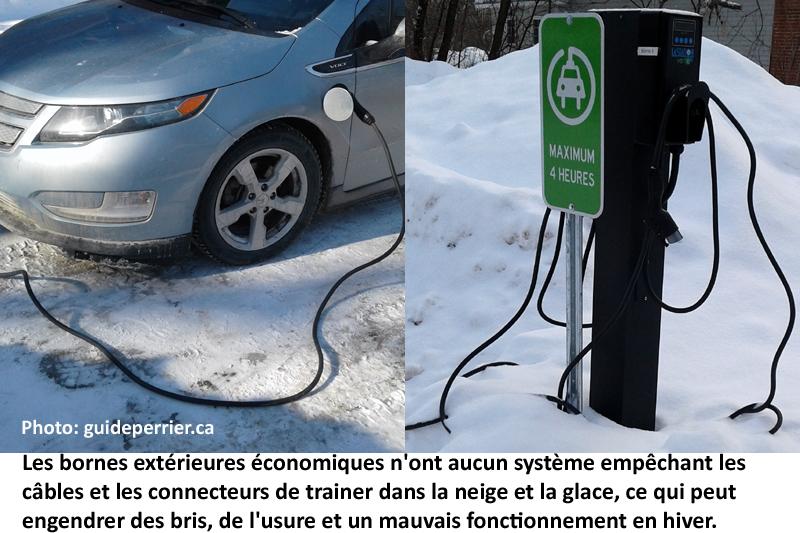 Bornes de recharges économiques pour véhicules électriques