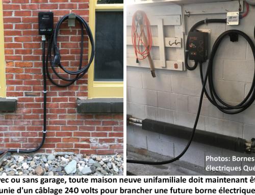Maison neuve: filage obligatoire pour bornes de recharge