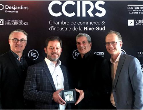 Bisson Expert reçoit le Prix d'Excellence de la CCIRS