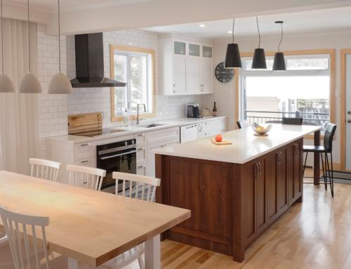 Rénovation de cuisine: agrandir de l'intérieur